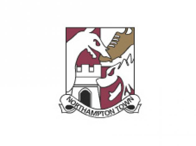 Striker staying with Northampton