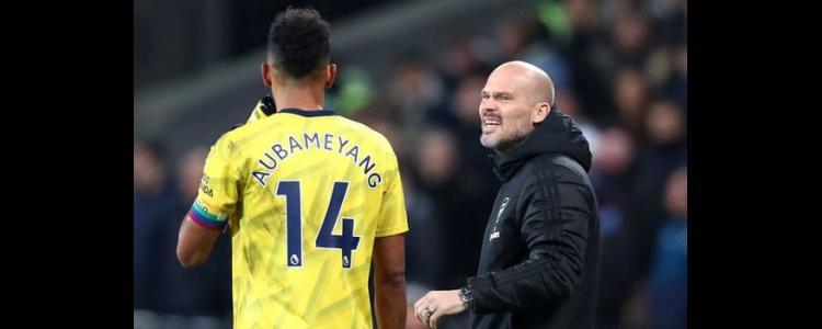 Arsenal star Aubameyang explains Ljungberg's half time team talk for West Ham win