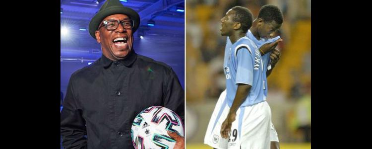Who do Ian Wright's sons Shaun Wright-Phillips and Bradley Wright-Phillips play for now?