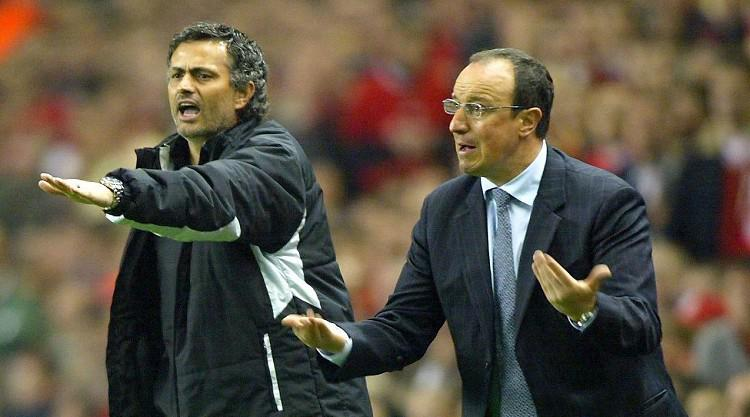 Mourinho makes Benitez weight jibe