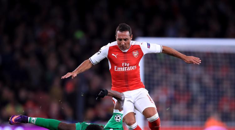Arsenal midfielder Santi Cazorla expected to miss rest of the season