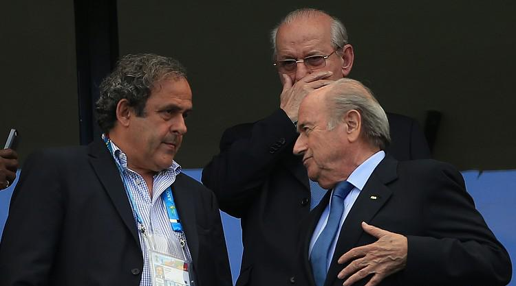 Sepp Blatter, Michel Platini and Jerome Valcke all suspended by FIFA