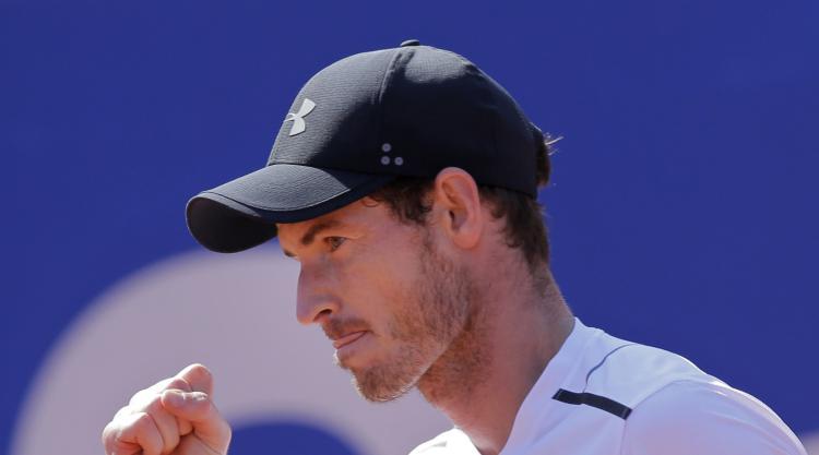 Andy Murray just sees off Albert Ramos-Vinolas in Barcelona