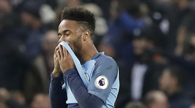 Leroy Sane says draw with Tottenham was a 'cruel' blow for Manchester City
