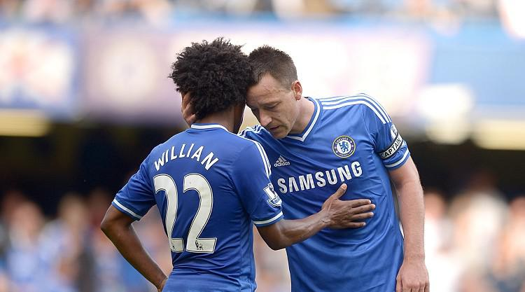 Willian expects John Terry to leave Chelsea this summer