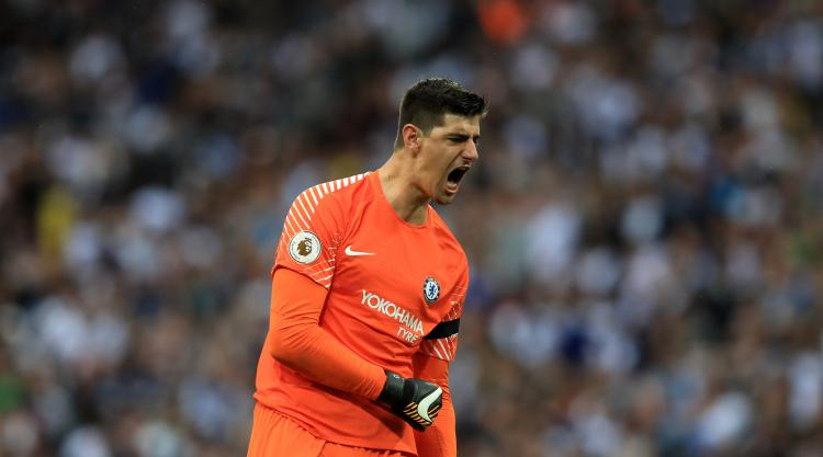 Chelsea keeper Thibaut Courtois claims Spurs could be in ...