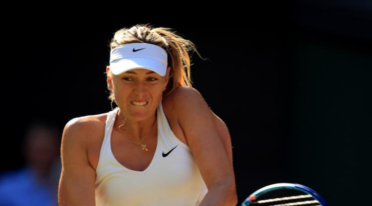 Sharapova through to last four in Stuttgart