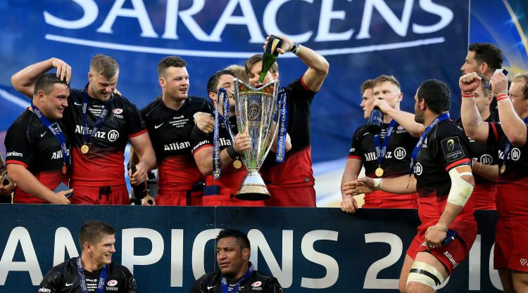 Saracens to host Glasgow Warriors in European Champions Cup quarter-finals