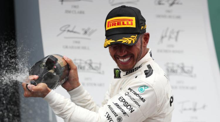 Hamilton breathing down Vettel's neck after British Grand Prix win