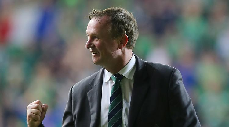 Northern Ireland boss Michael O'Neill basking in pride after Euro qualification