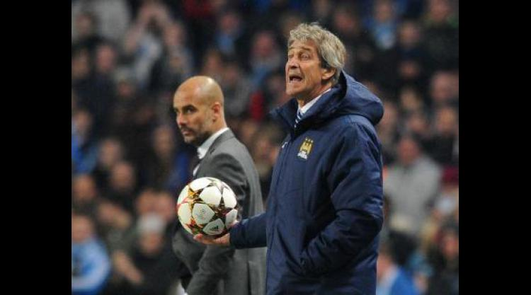 Manuel Pellegrini unfazed by talk linking Pep Guardiola with Manchester City job