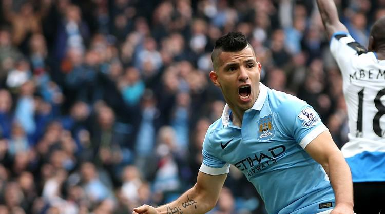 Man City striker Sergio Aguero suffers hamstring injury on international duty