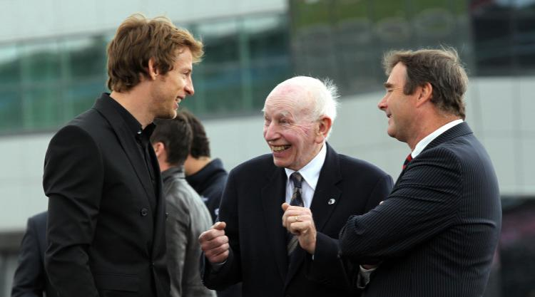 Nigel Mansell pays tribute to 'gentle, massive giant' John Surtees