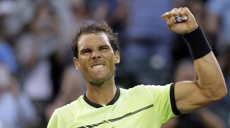Nadal marches on in Miami to set up 1,000th career match