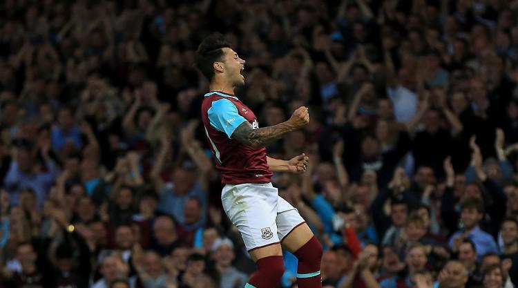 Ten-man West Ham draw with Astra