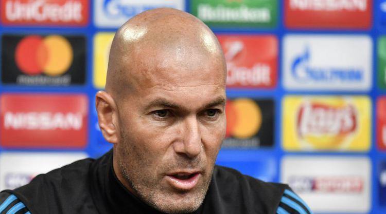 Zinedine Zidane keen to silence Real Madrid critics with win in Dortmund
