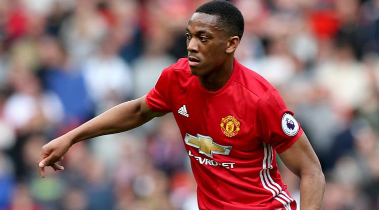 Anthony Martial appears to deny rumours of a Manchester United exit