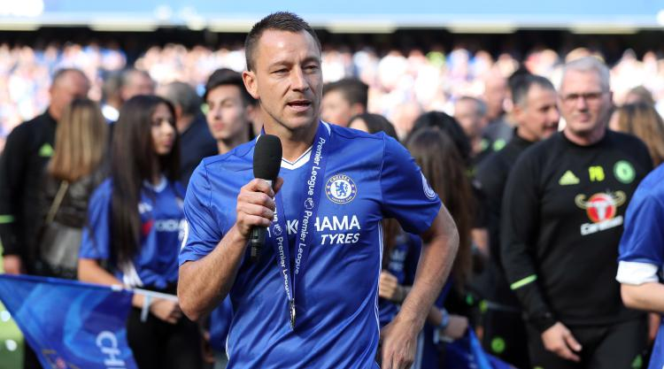 John Terry reveals dream of managing 'top side' at Wembley