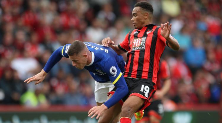 Junior Stanislas' super strike ends Everton's fine start to the season
