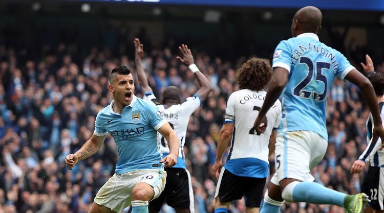 Pellegrini reveals Aguero was not fully fit after five-goal haul stuns Newcastle