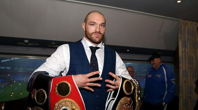 Fury tells Joshua  'challenge accepted' as he seeks showdown with world champion