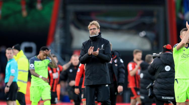 Jurgen Klopp keeps his cool after Liverpool lose thriller at Bournemouth