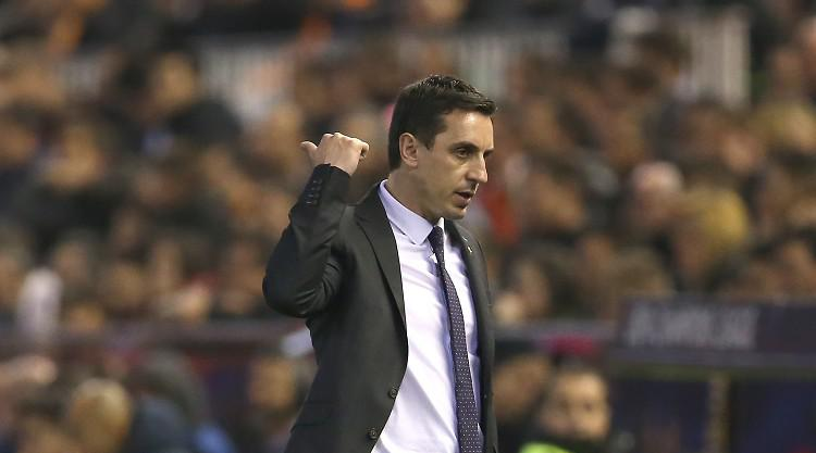 Gary Neville: Valencia deserved more than a draw