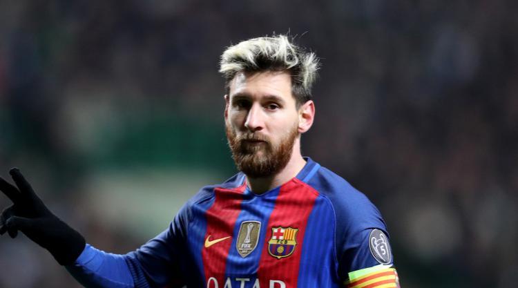 Lionel Messi scores four as Barcelona thrash Eibar