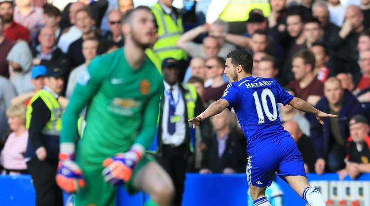 Hazard puts Blues on brink of title