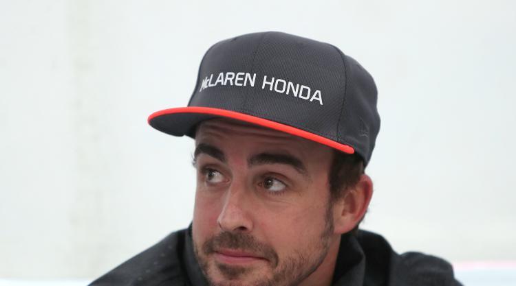 Fernando Alonso not unduly negative despite starting from the back in Baku