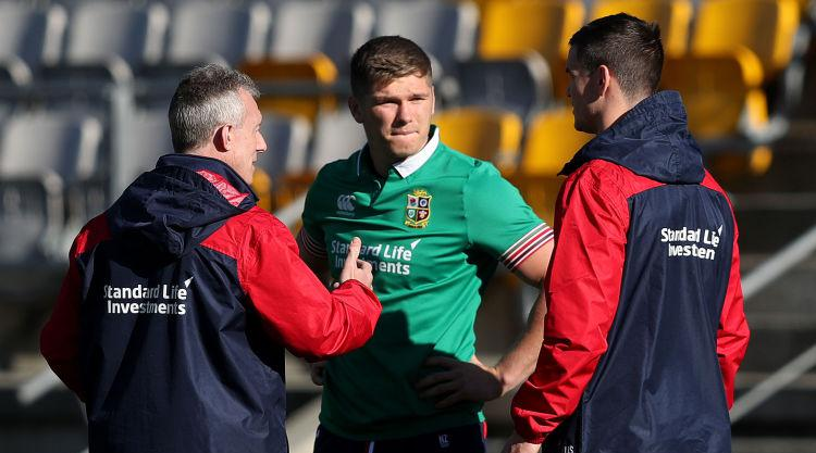 Warburton to captain Lions in second Test as Sexton and Farrell handed starts