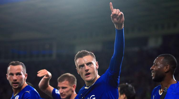 No party for Jamie Vardy after he breaks Premier League scoring record