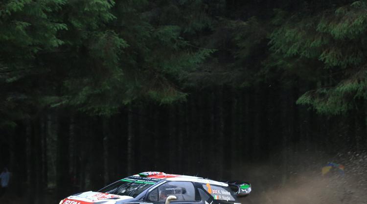 Kris Meeke claims victory in Spain as Sebastien Ogier extends lead in title race