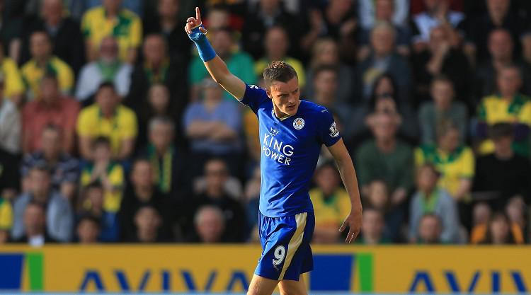 Jamie Vardy's golden touch delights Leicester manager Claudio Ranieri