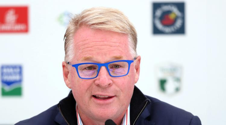European Tour boss Keith Pelley says potential merger with PGA is not a priority