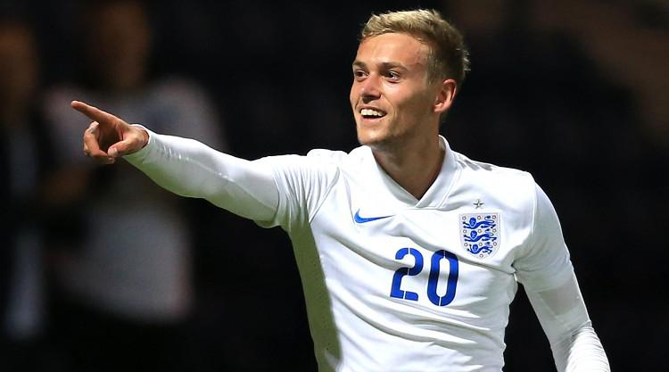 James Wilson fires the winner for England Under-21s