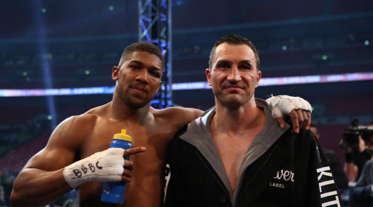 Holmes urges Joshua to take on Wilder in United Kingdom