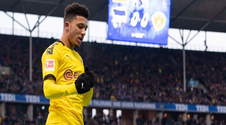 Dortmund Chief Offers Update on Jadon Sancho's Future as Man City Turn Down First-Refusal Option