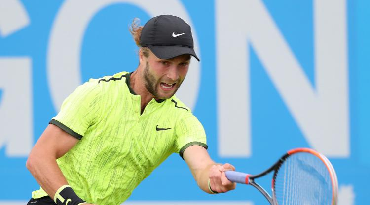 Liam Broady stuns Ernests Gulbis in St Petersburg for first ATP Tour victory