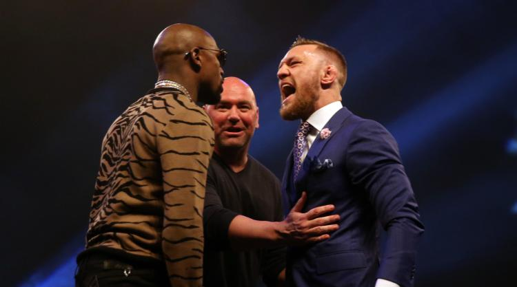Conor McGregor had been eyeing up Floyd Mayweather fight from an early age
