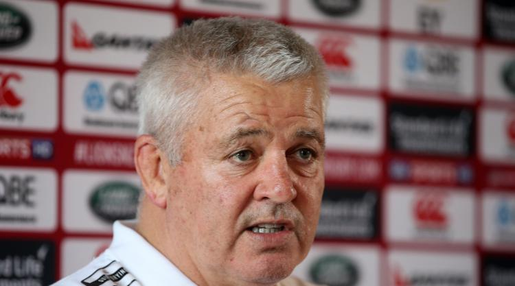 Warren Gatland says there will be no easy wins for British and Irish Lions