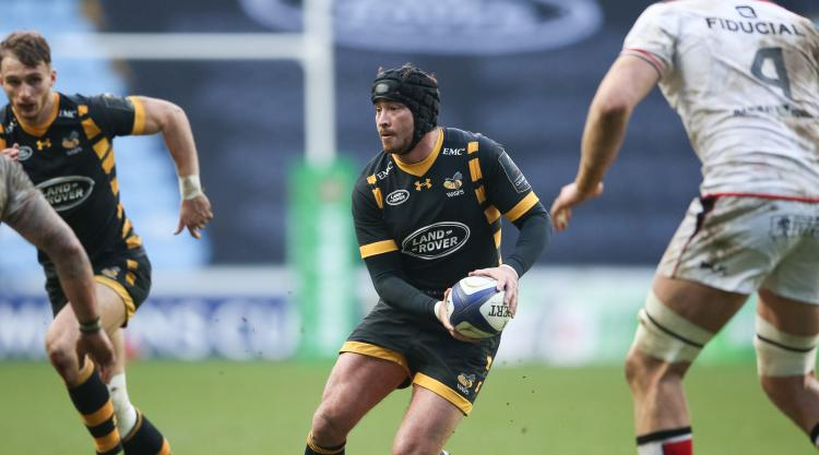 Danny Ciipriani a happy man as Wasps prepare for their first final in nine years