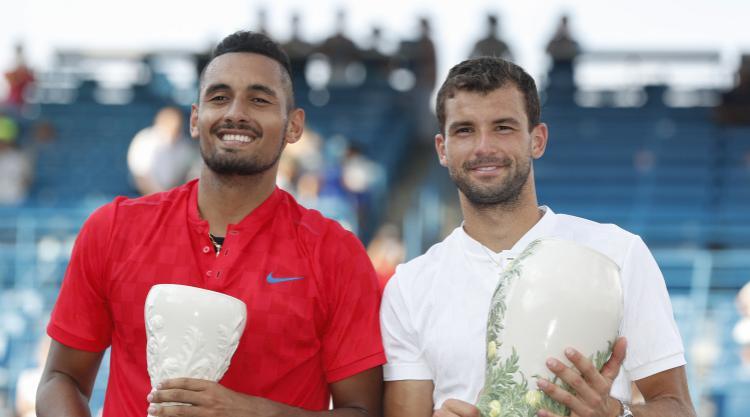 Grigor Dimitrov beats Nick Kyrgios to claim first Masters title