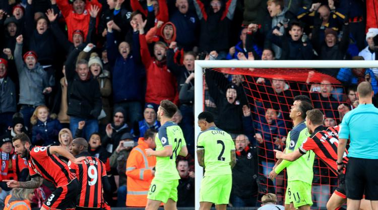 Nathan Ake snatches stunning comeback win for Bournemouth in seven-goal thriller