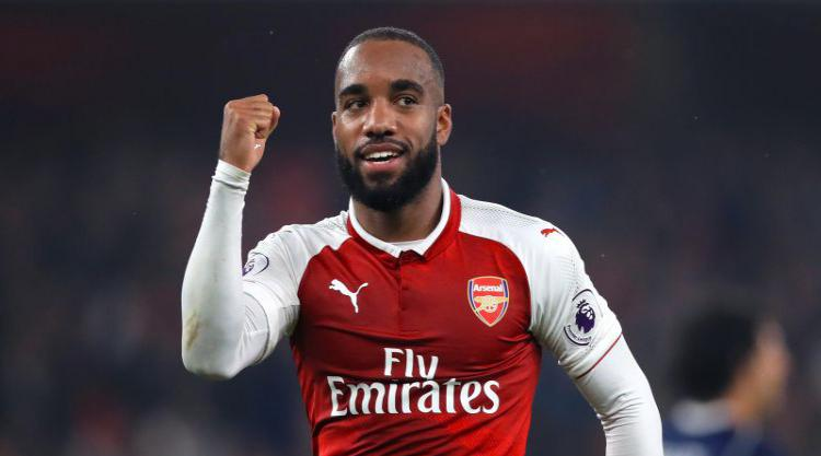 Alexandre Lacazette takes centre stage to outshine record-breaker Gareth Barry