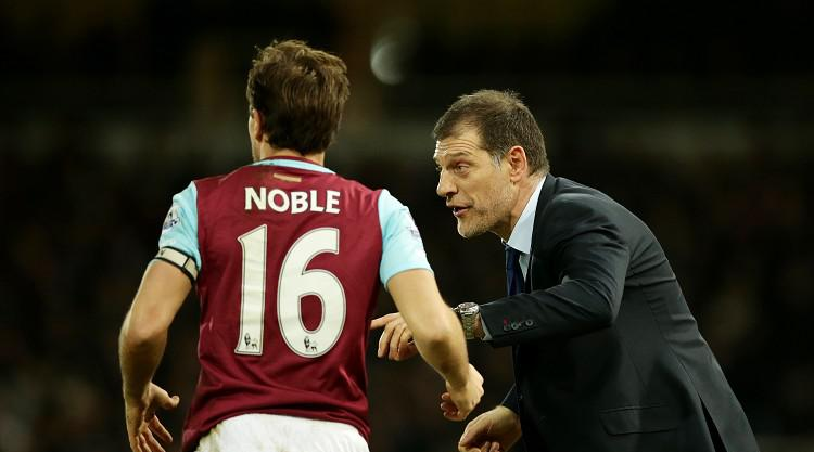 Slaven Bilic bemused following Mark Noble's omission from England get-together