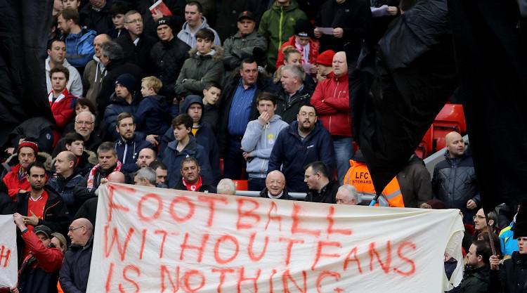Liverpool supporters' group promises further protests over ticket prices
