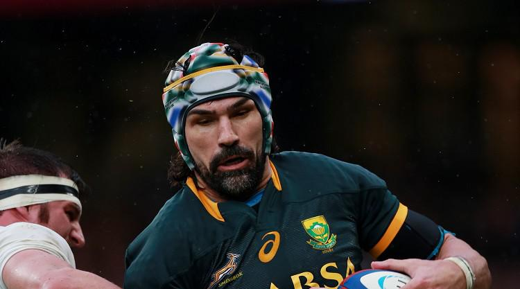 Rudy Paige only uncapped player in seasoned South Africa squad