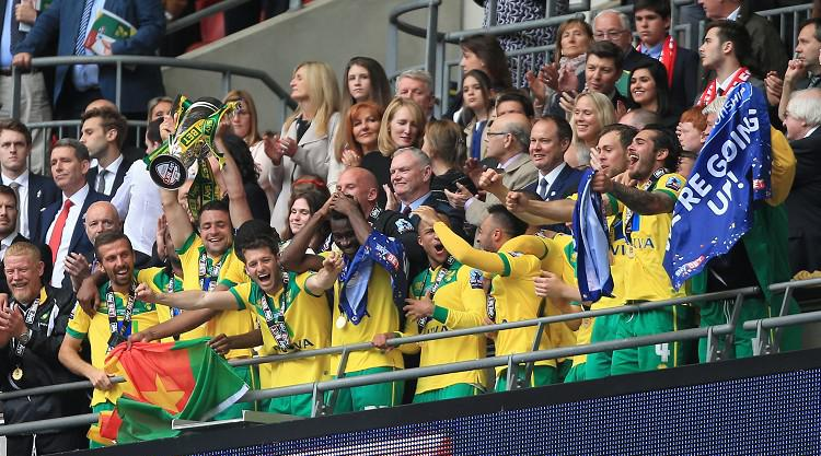Norwich promoted to Premier League