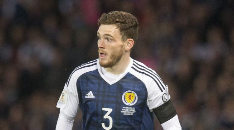 Scotland's Andy Robertson confident of result against England